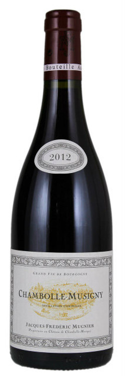 Domaine Jacques-Frederic Mugnier Chambolle-Musigny 2012 750ml