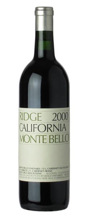 Ridge Monte Bello 2000 750ml