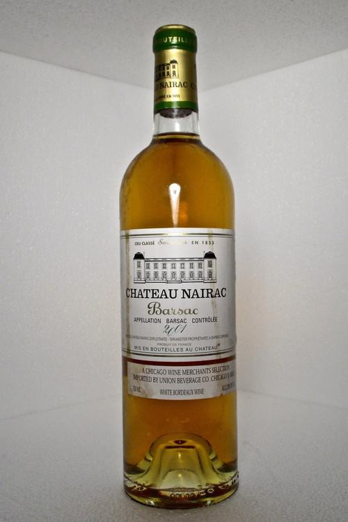Nairac Barsac 2001 750ml