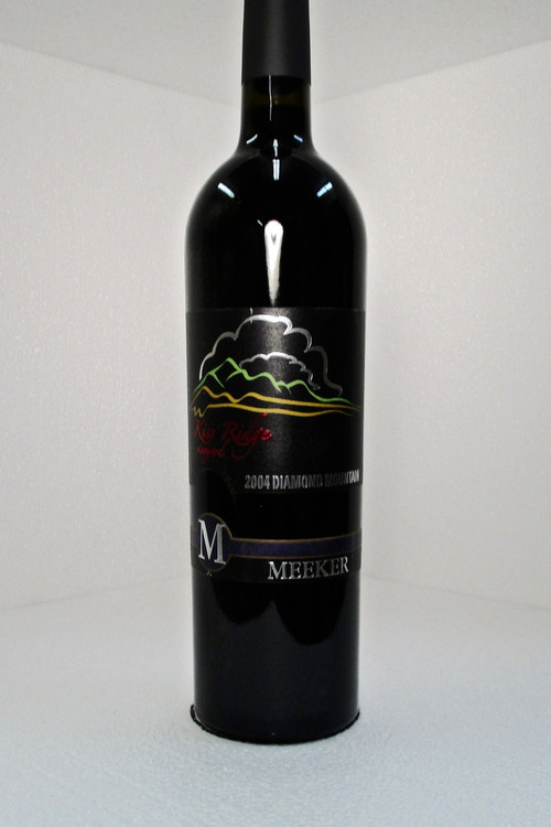 Meeker Cabernet Sauvignon Kiss Ridge Vineyard 2004 750ml