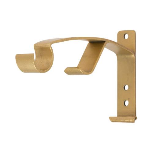 "Italianate Arch Double Rod Bracket 1"" Scale"