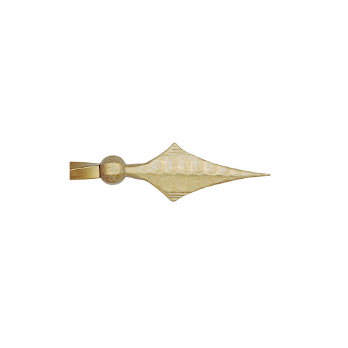 """Hammered Spear Finial 1"""" Scale"""
