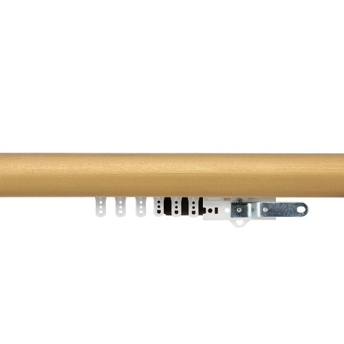 "1-3/4"" Smooth Wood Traverse Rod"