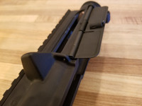 AR-15 spring loaded ejection port cover
