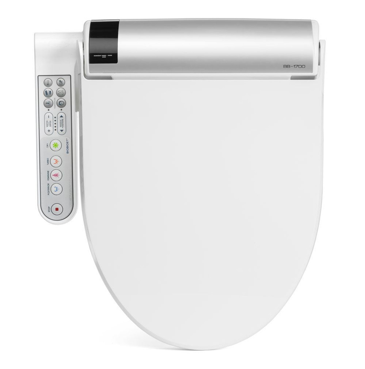 Bidet Toilet Seat BLISS with Side Controls by BioBidet