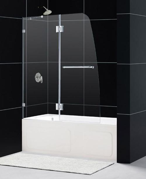 48 Inch Tub Shower. Dreamline Aqualux Tub Door  48 Inch Frameless Bathtub Doors Hinged Sliding