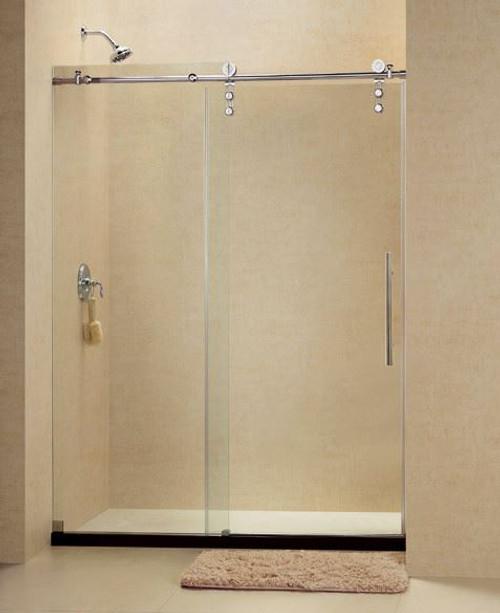 doors frameless x dp d dreamline shower w stainless in door enigma enclosure