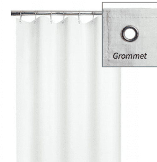Superbe ADA Weighted Shower Curtain | For Barrier Free Shower | Vinyl