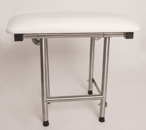 Mounted Shower Seat | Folding & Padded | 500# Wt Cap