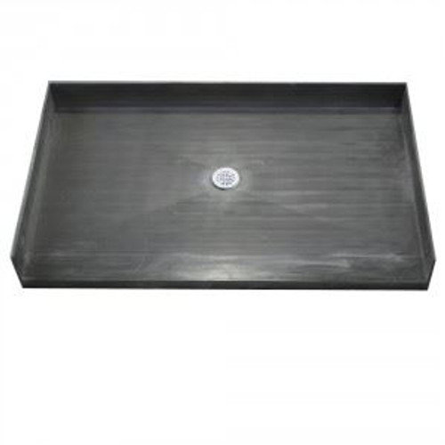 Gentil 34 X 48 Shower Pan By Tile Redi With Center Drain | Curbless