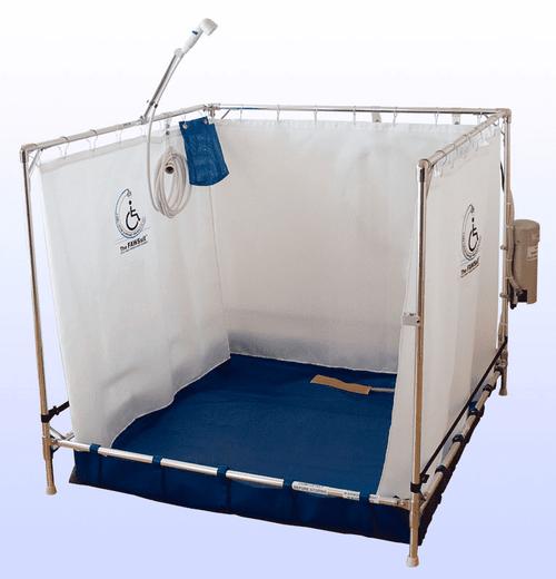 Portable Indoor Showers | Temporary Indoor Showers