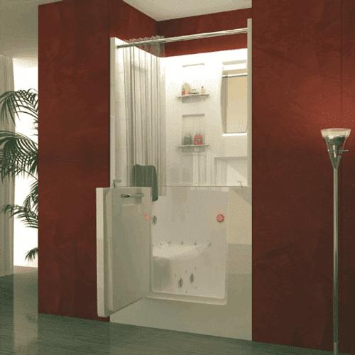 Walk In Bathtub Shower Combo | Outswing Door | US Made