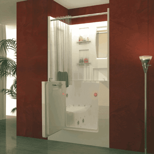 Walk In Bathtub Shower Combo | Outswing Door | US Made