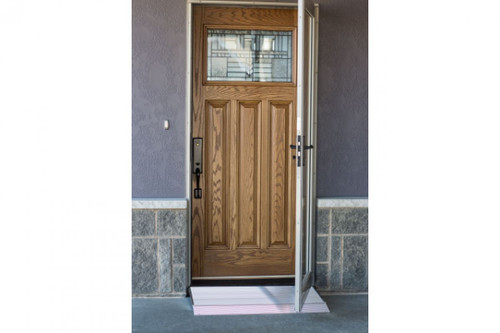 Adjustable Threshold R& | 3-5/8 TO 5-7/8 inches  sc 1 st  EZ Able & Threshold Ramps | Doorway Ramp
