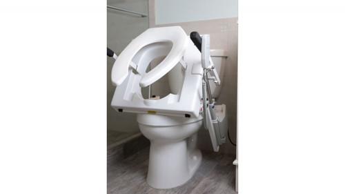 Toilet Seat Lifter | Power Tilt Lifts Users | 325 lbs wt cap