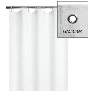 ADA Weighted Shower Curtain | For Barrier Free Shower | Vinyl