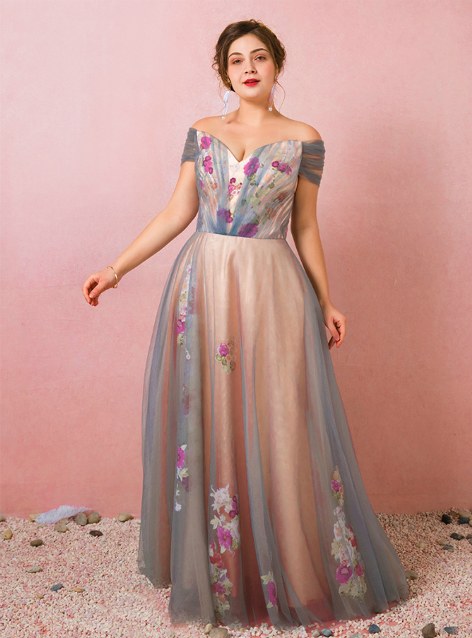 Embroidered Party Dresses and Prom Gowns ,Embroidered Prom Dresses