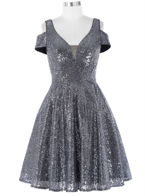 Cocktail Dresses Mother of the Bride Banquet Dress Dark Grey