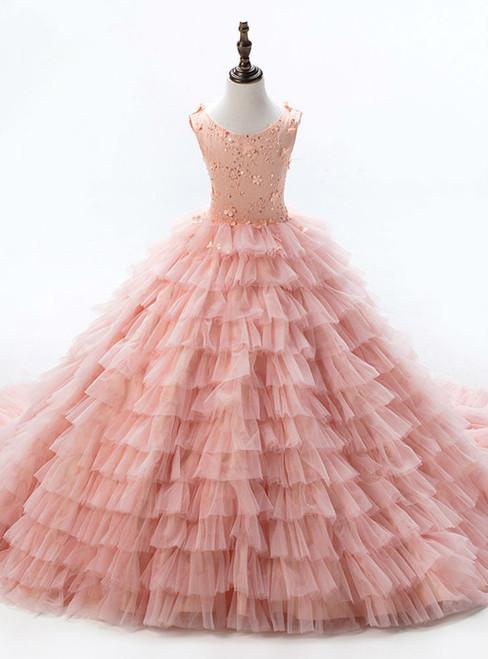 Gold Ball Gown High Neck Short Sleeve Sequins Appliques Wedding Dress
