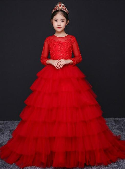 2018 Flower Girl Dresses,Custom Design Flower Girl Gowns