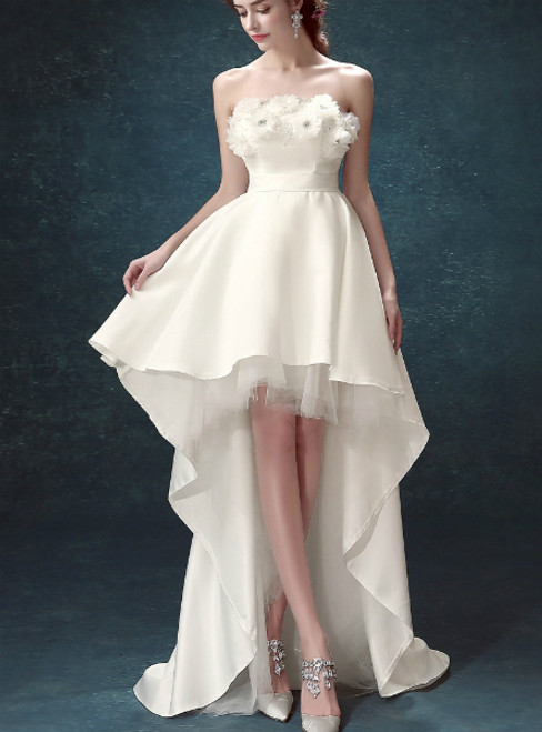 Hi Lo Convertible Wedding Dress
