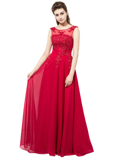 hot selling silver a line one shoulder chiffon floor length