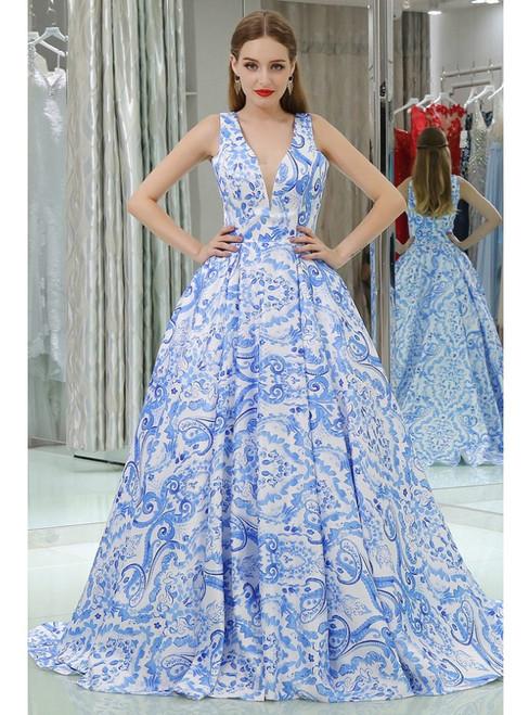 Print Prom Dresses , Unique Print Gowns