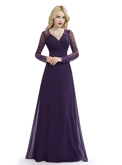 Long Bridesmaid Dresses & Full Length Gowns