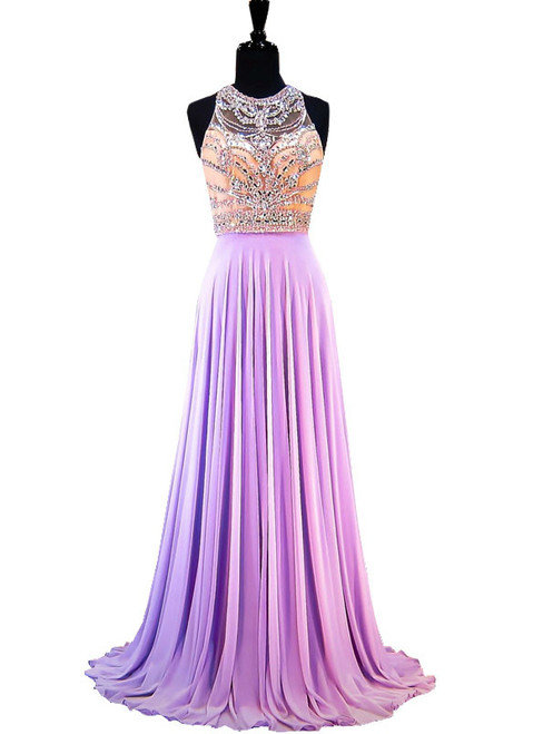 Purple Prom Dresses, Evening Gowns,Purple Formal Evening Gowns