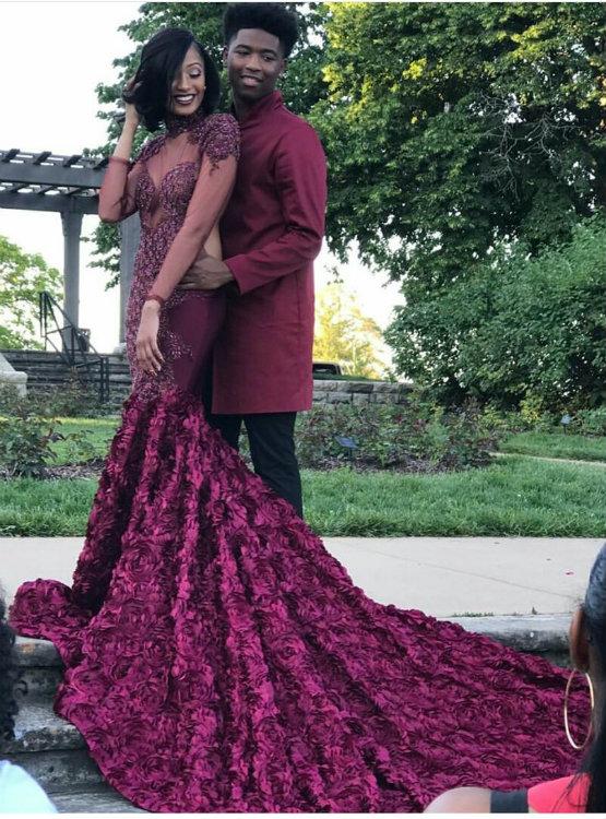 Grape Mermaid Dresses