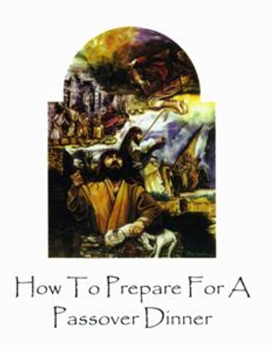 How To Prepare For A Passover Dinner (softcover)