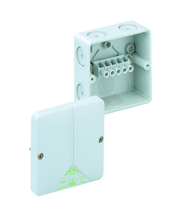 SPELSBERG Abox 040 Junction Box with 5 x 4mm² Terminals