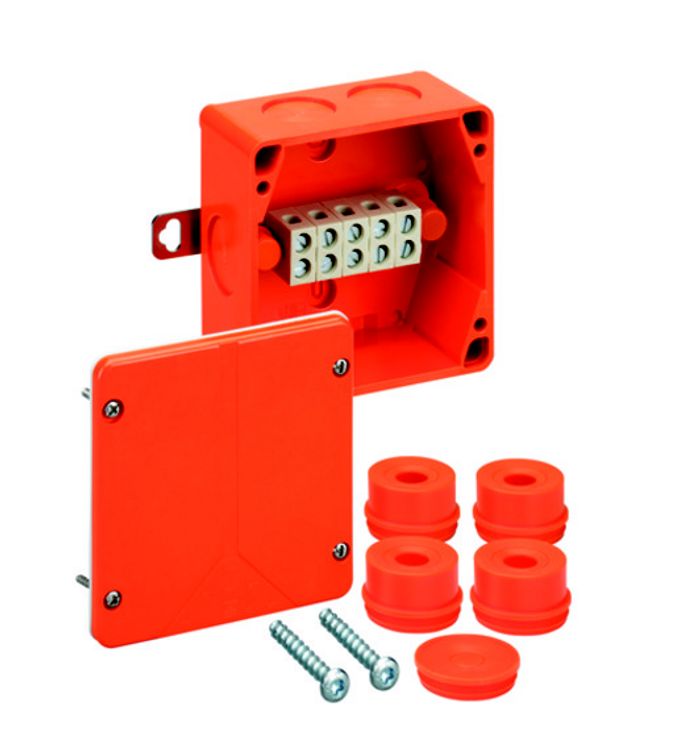 Spelsberg WKE 3 Fire Rated Junction Box c/w 5 x 10mm² Terminals