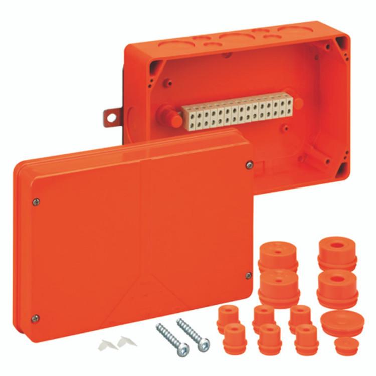 Spelsberg WKE 5 Fire Rated Junction Box c/w 15 x 6mm² Terminals