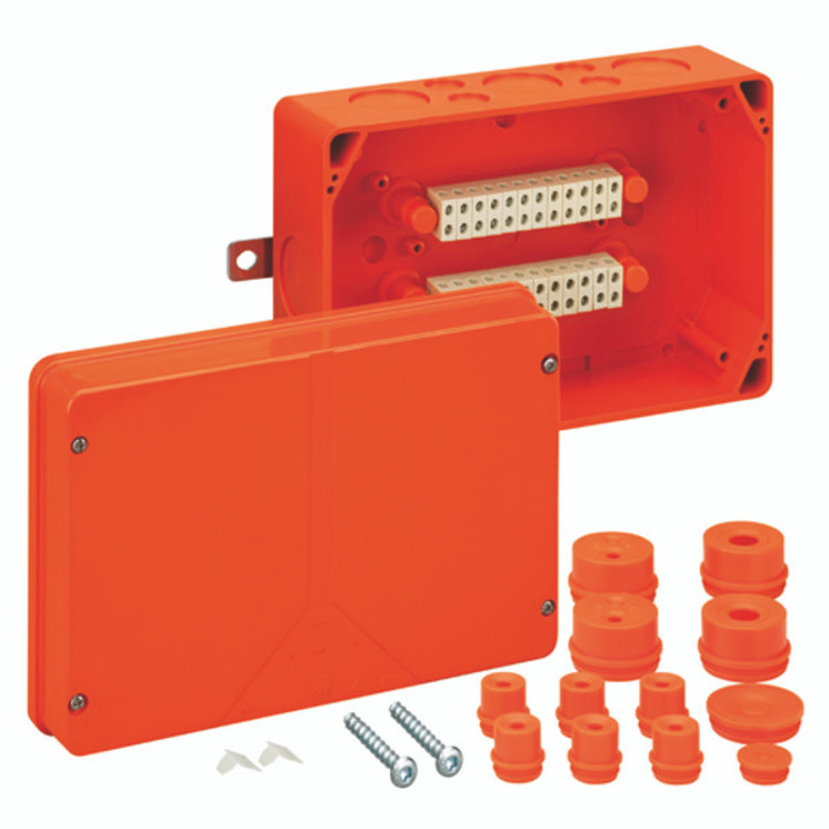 Spelsberg WKE 5 Fire Rated Junction Box c/w 20 x 6mm² Terminals