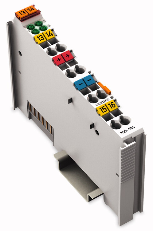 Wago 750-504 4 Channel 24VDC Digital Output Module
