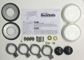 1.90 Stainless DeckVolly Hardware Bag