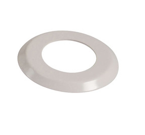 "2 3/8"" White Escutcheon Ring  (4.5"" O.D) - SR238"