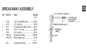 Slam - Breakaway Assembly - BR1