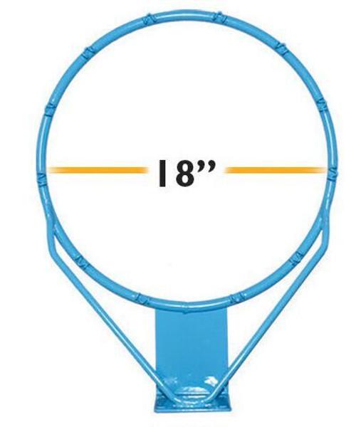 Regulation Clear Hoop Stainless 18 in - RIM175