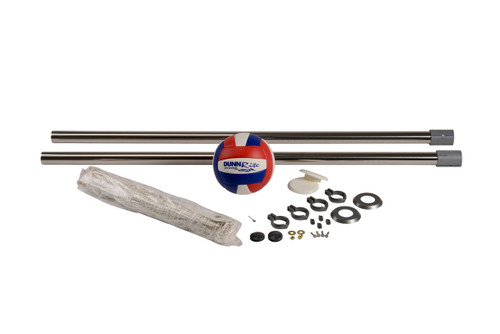 "Stainless DeckVolly 2 3/8"" - Anchors NOT Included"