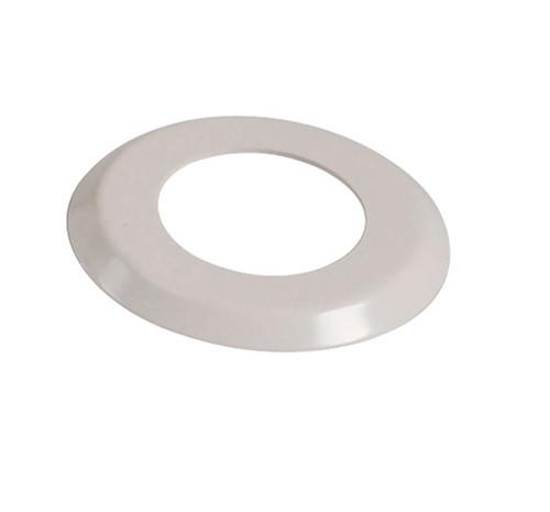 """2 3/8"""" White Escutcheon Ring  (4.5"""" O.D) - SR238"""