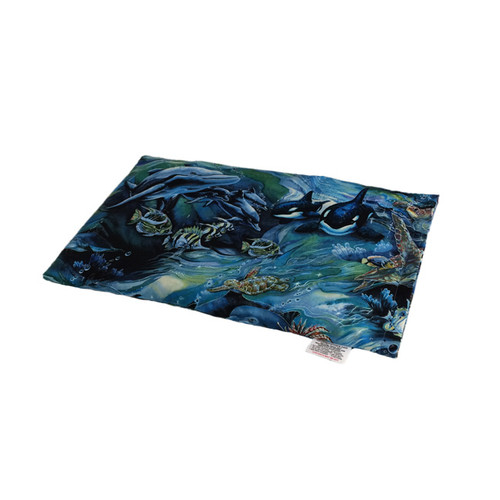 Amazing Ocean lap warmer microwave heating pad.