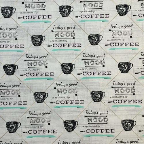 Coffee themed pattern for your Corn Heating Pad (Corn Bag Warmer)
