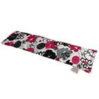 Black & Pink Bouquet Heating Pad for Neck Pain | Cold & Hot Therapy