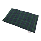 Green & Blue Plaid Heating Pad for Back Pain | Lower Back Heat Therapy