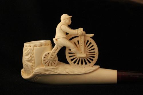 CYCLER Meerschaum Pipe Tobacco Pipa Pfeife NEW 1472