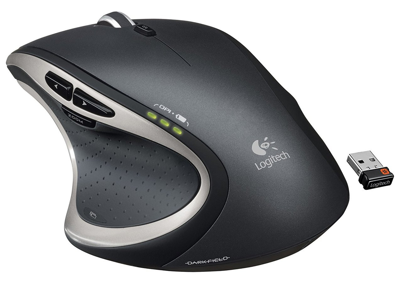 Logitech Wireless Performance Mouse Mx For Pc And Mac Large M331 Silent Plus Cordless Long Range