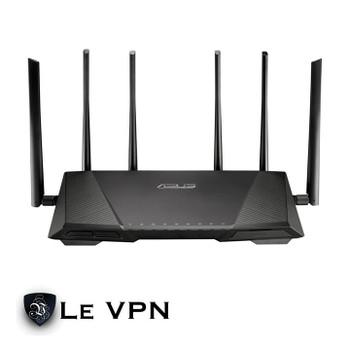 Le VPN Asus RT-AC3200 VPN Router Front