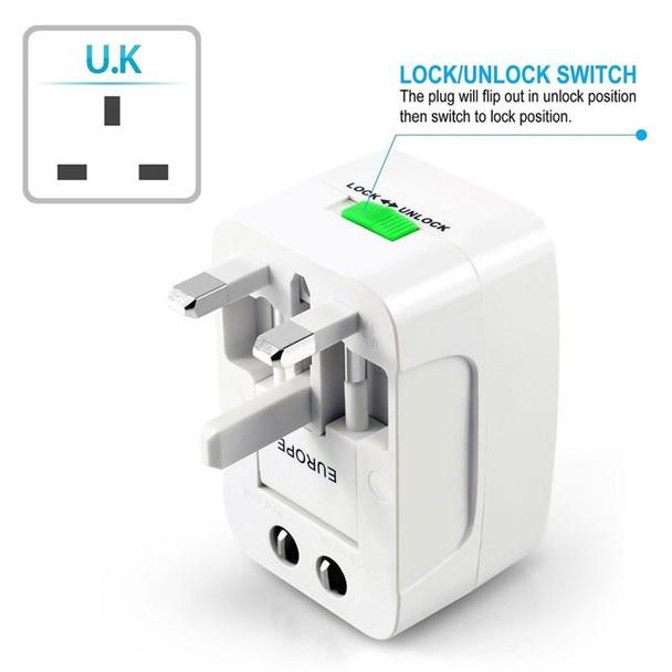 International Plug Adapter, UK plug